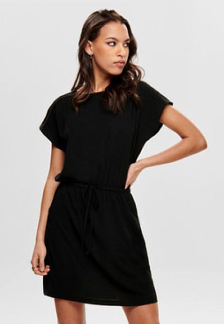 ONLY - ONLMARIANA MYRINA DRESS - Day dress - black