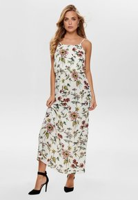 ONLY - ONLWINNER - Maxi-jurk - cloud dancer - 1