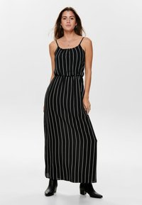 ONLY - ONLWINNER - Maxi-jurk - black - 0