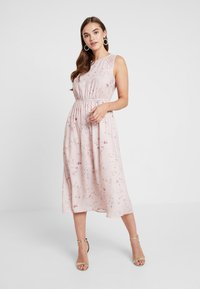 ONLY - ONLBUTTERFLY DRESS - Maxi dress - rose smoke - 0