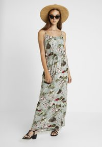 ONLY - ONLSALLY DRESS - Vestido largo - balsam green - 2