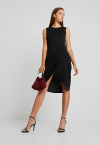 ONLY - ONLBREMEN O NECK DRESS - Jerseyjurk - black - 2