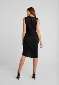 ONLY - ONLBREMEN O NECK DRESS - Jerseyjurk - black - 3