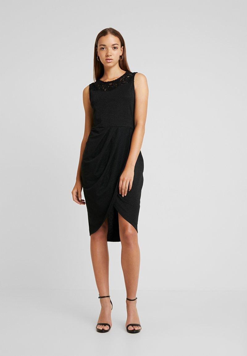 ONLY - ONLBREMEN O NECK DRESS - Jersey dress - black