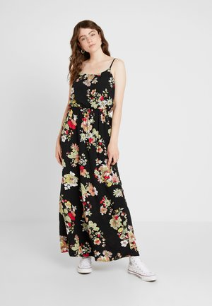 ONLNOVA STRAP DRESS - Maxi šaty - black