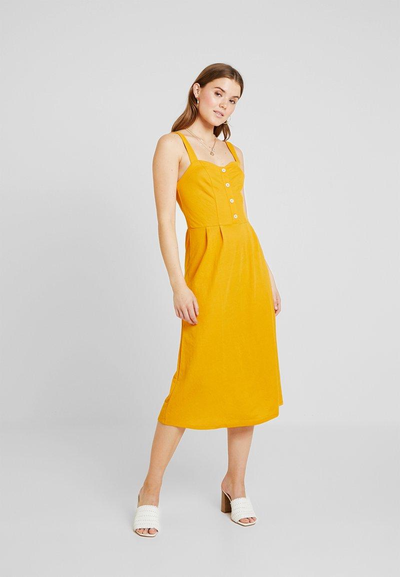 ONLY - Blusenkleid − orange