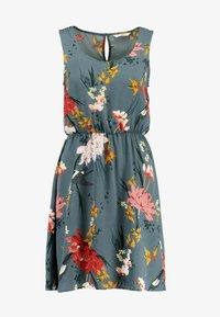 ONLY - ONLELEONORA  DRESS - Denní šaty - balsam green - 4