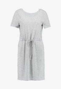 ONLY - ONLWINNIE DRESS - Žerzejové šaty - night sky/cloud dancer - 5