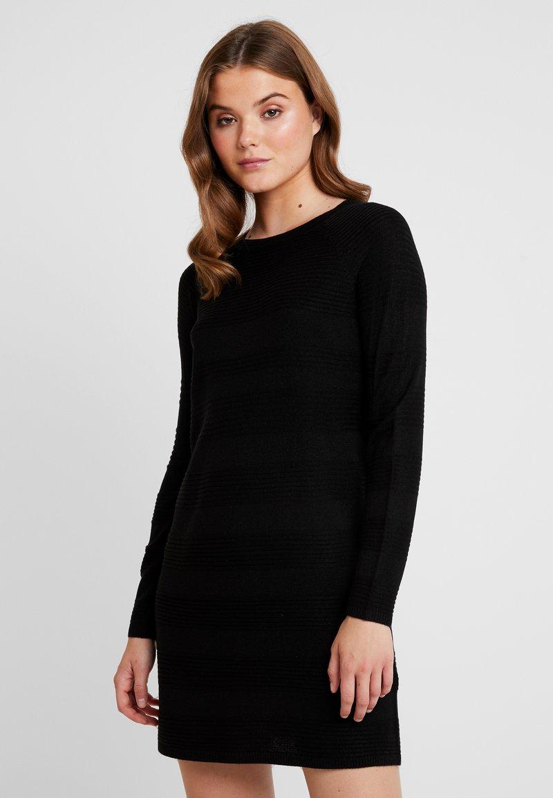 ONLY - ONLCAVIAR DRESS - Strikkjoler - black