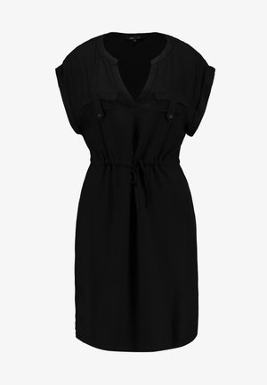 ONYROSSA SHORT DRESS - Day dress - black