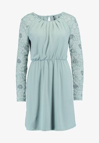 ONLY - ONLHANOVER O NECK DRESS - Jerseyjurk - chinois green - 5