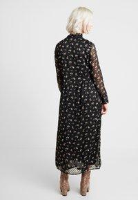 ONLY - ONLTHEA HIGHNECK DRESS - Košilové šaty - black - 3