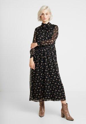 ONLTHEA HIGHNECK DRESS - Košilové šaty - black