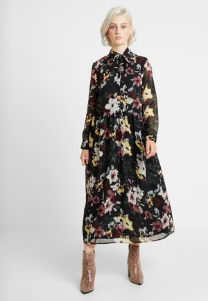 ONLTHEA HIGHNECK DRESS - Skjortekjole - black