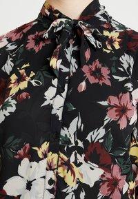 ONLY - ONLTHEA HIGHNECK DRESS - Skjortekjole - black - 6