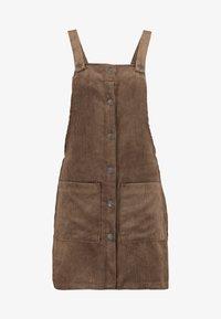 ONLY - ONLNOMY SIGGE SPENCER DRESS - Denní šaty - toasted coconut - 5