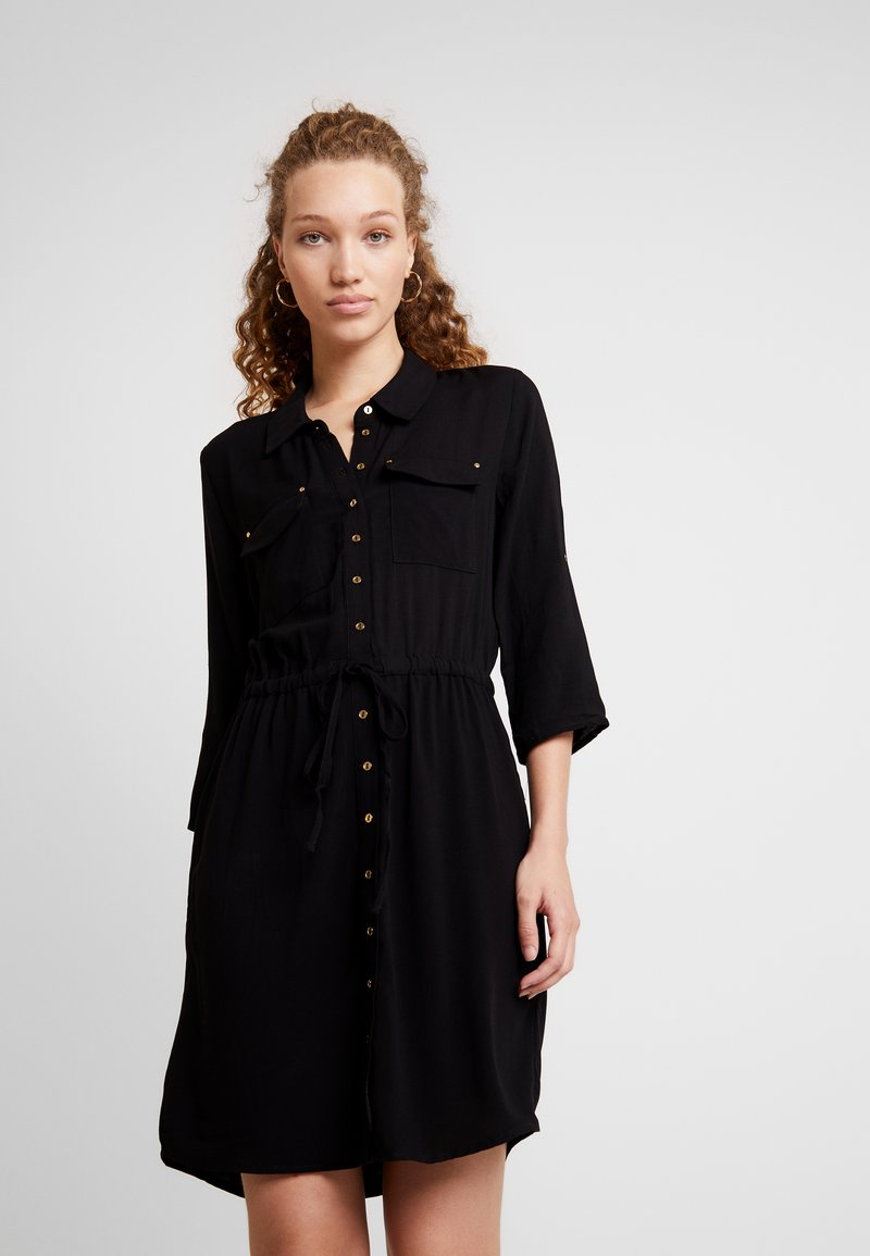 ONLY - ONLJOSEFINE 3/4 SLEEVE DRESS - Blusenkleid - black