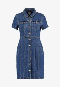 ONLY - ONLOFELIA BUTTON DRESS - Vestito di jeans - medium blue denim - 4