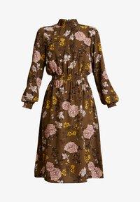 ONLY - ONLNOVA HIGHNECK DRESS - Robe chemise - beech - 5