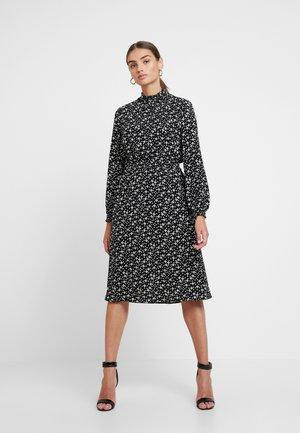 ONLNOVA HIGHNECK DRESS - Skjortekjole - black