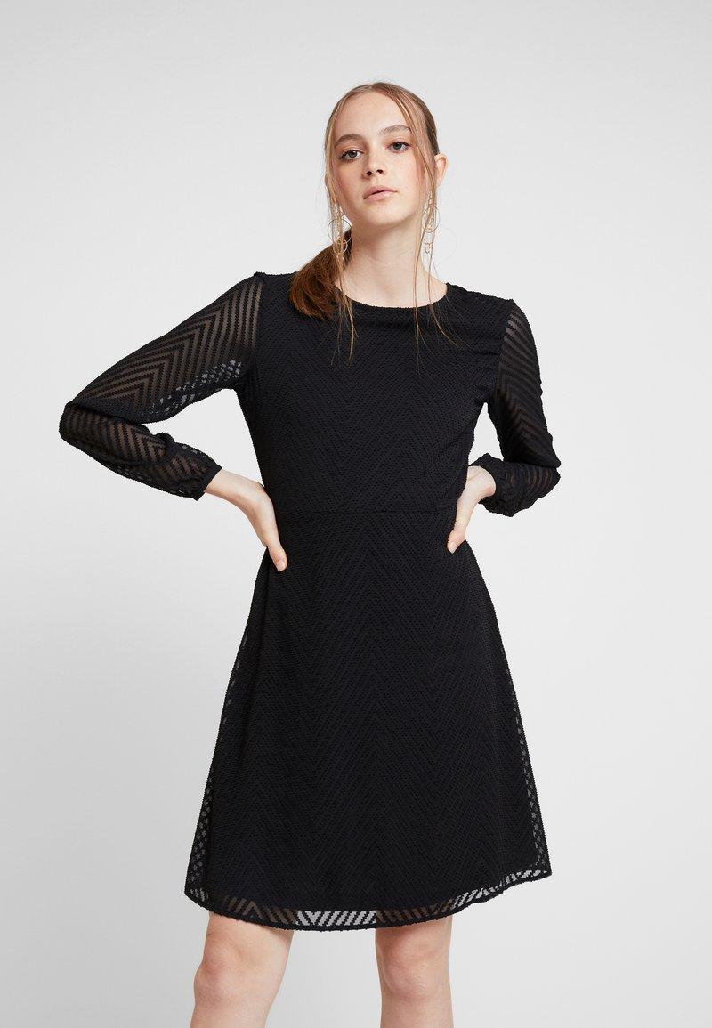 ONLY - ONLLINA DRESS - Robe d'été - black