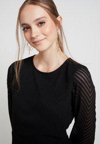 ONLY - ONLLINA DRESS - Robe d'été - black - 5