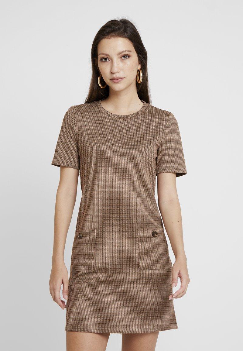 ONLY - ONLANNIE POCKET DRESS - Jumper dress - ginger bread