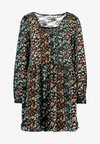ONLELLA  DRESS  - Vestito estivo - black/folk ditsy