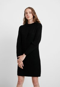 ONLY - ONLJADE DRESS - Vestido de punto - black - 0