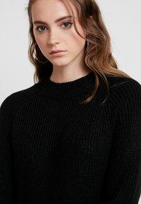 ONLY - ONLJADE DRESS - Vestido de punto - black - 5