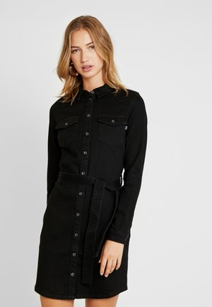 ONLKENCYE SHIRT DRESS - Spijkerjurk - black