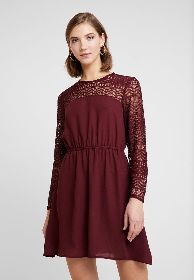 ONLDEMI SHORT DRESS - Vestito estivo - tawny port