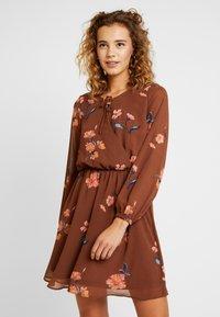 ONLY - ONLFRANCIS DRESS - Day dress - cappuccino - 0