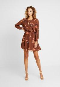 ONLY - ONLFRANCIS DRESS - Day dress - cappuccino - 1