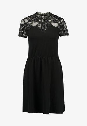 ONLMONNA MIX DRESS - Jerseyklänning - black