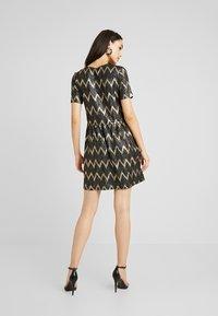 ONLY - ONLCAROL DRESS - Vestido de punto - black - 3