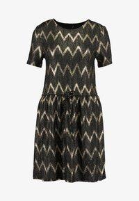 ONLY - ONLCAROL DRESS - Vestido de punto - black - 4