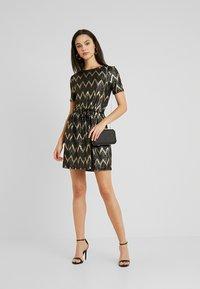 ONLY - ONLCAROL DRESS - Vestido de punto - black - 2