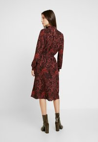 ONLY - ONLNOVA LUX SMOCK HIGHNECK DRESS - Day dress - apple butter - 3