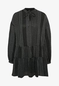 ONLY - ATHENA - Robe d'été - black/white - 3