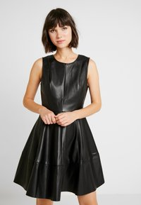 ONLY - ONLCORINNE DRESS - Kjole - black - 0