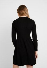 ONLY - ONLALMA O NECK DRESS - Day dress - black - 3