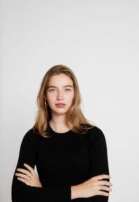 ONLY - ONLALMA O NECK DRESS - Day dress - black - 4