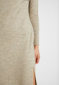ONLY - ONLCLEAN ROLLNECK DRESS  - Maxikjole - simply taupe/melange - 5