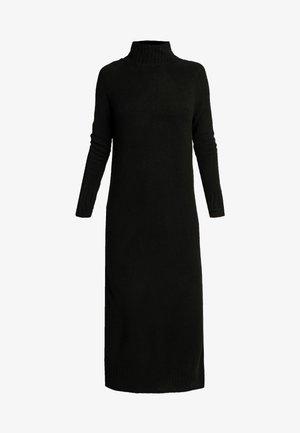 ONLCLEAN ROLLNECK DRESS  - Vestito lungo - black