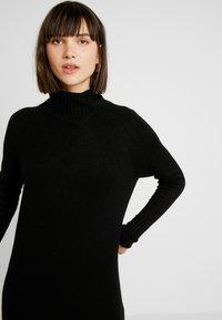 ONLY - ONLCLEAN ROLLNECK DRESS  - Maxikjole - black - 3