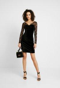 ONLY - ONLZEMBA DRESS - Cocktailkleid/festliches Kleid - black - 2