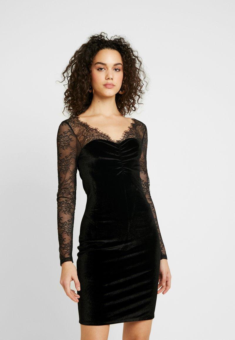 ONLY - ONLZEMBA DRESS - Cocktailkleid/festliches Kleid - black