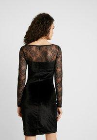 ONLY - ONLZEMBA DRESS - Cocktailkleid/festliches Kleid - black - 3