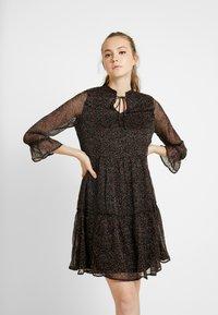ONLY - ONYNIKOLINE KNEE DRESS - Kjole - black - 0